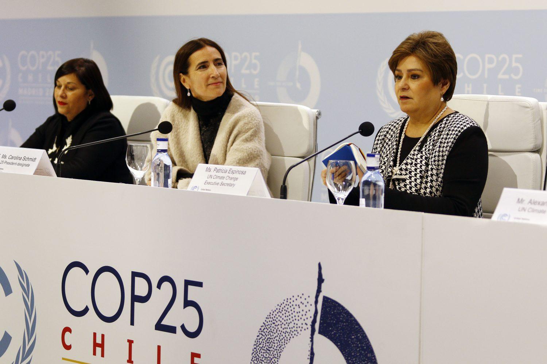 Tres mujeres latinoamericanas impulsan con fuerza la acción climática