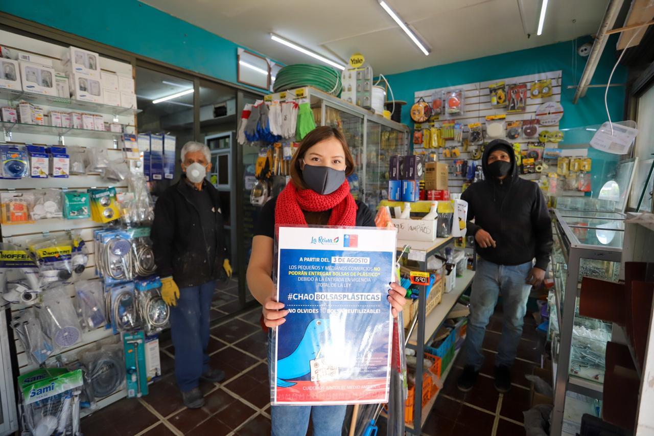 Chile se convirtió en el primer país de América Latina en prohibir la entrega de bolsas plásticas